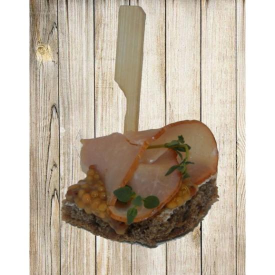Канапе - Балык на ржаном хлебе