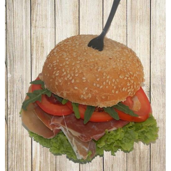 Гамбургер с хамоном